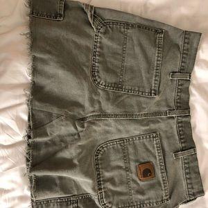 Carhartt Denim Skirt